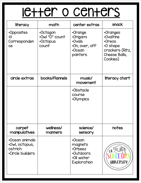 preschool-letter-o-learning-centers
